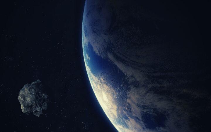 Dünyaya yaklaşan bir asteroit. Buradaki asteroit motivasyon ile güç alan bir hayali temsil ediyor.